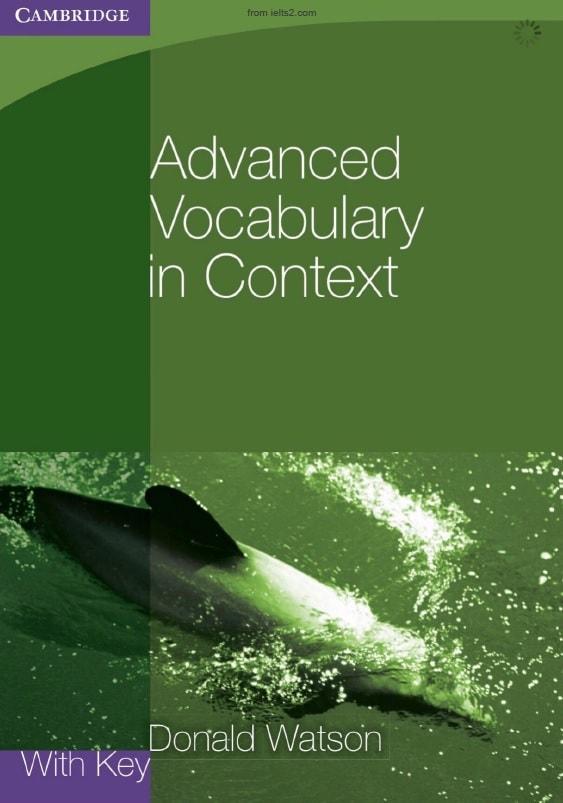 دانلود کتاب Advanced Vocabulary in Context نوشته Donald Watson