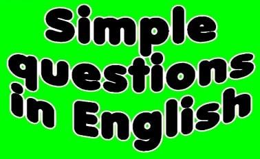 پرسش و پاسخ به زبان انگلیسی