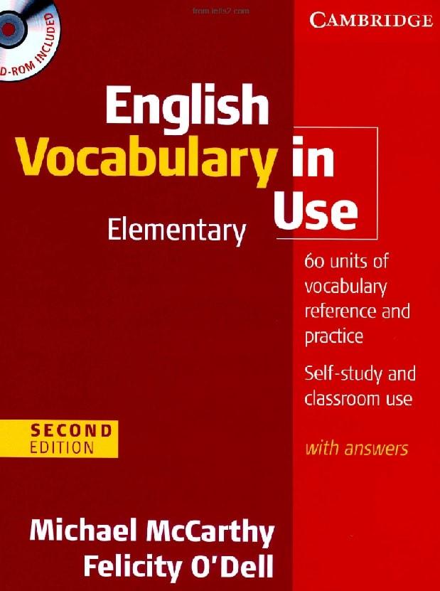 دانلود کتاب Vocabulary In Use Elementary ویرایش دوم