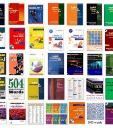 دانلود مجموعه کامل منابع لغات آیلتس و زبان انگلیسی