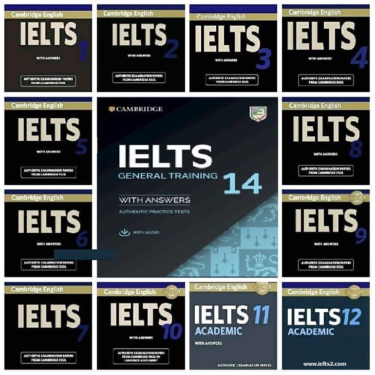 دانلود کمبریج آیلتس 16 ،15، 14، 13، 12، 11، 10، 9، 8، 7، 6 تا 1 با سرعت بالا