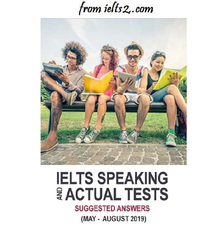 دانلود فایل صوتی کتاب IELTS Speaking Actual Tests