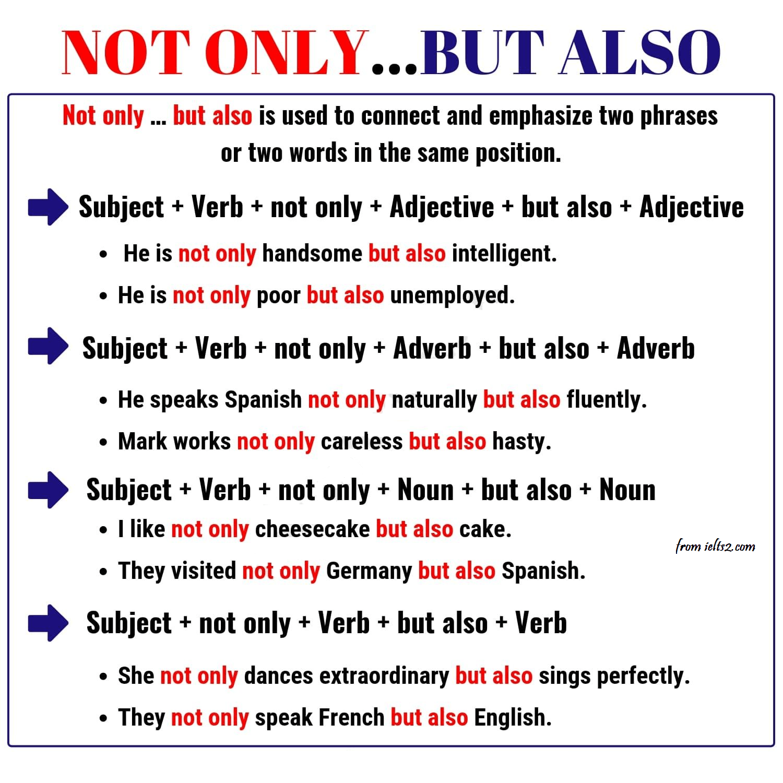 "دستور زبان پیشرفته؛ ساختار ""Not Only But Also"""