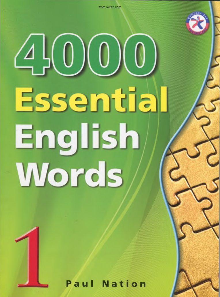 دانلود کتاب 4000 لغت ضروری انگلیسی PDF