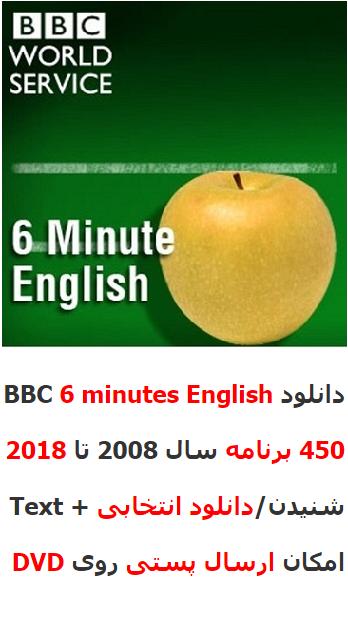 بایگانی کامل مجموعه 6 Minute English