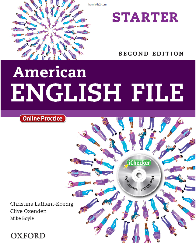 دانلود کتاب American English File Starter