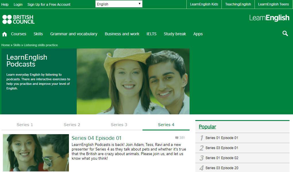دانلود British Council Podcasts