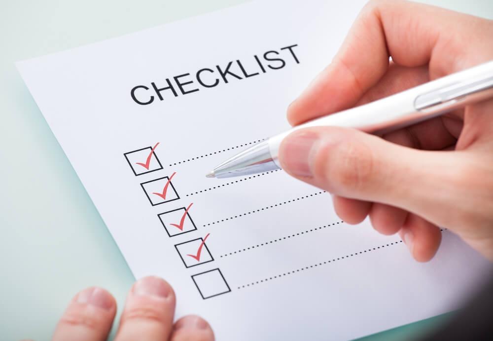 چک لیست نوشتن رایتینگ آزمون آِیلتس آکادمیک و جنرال