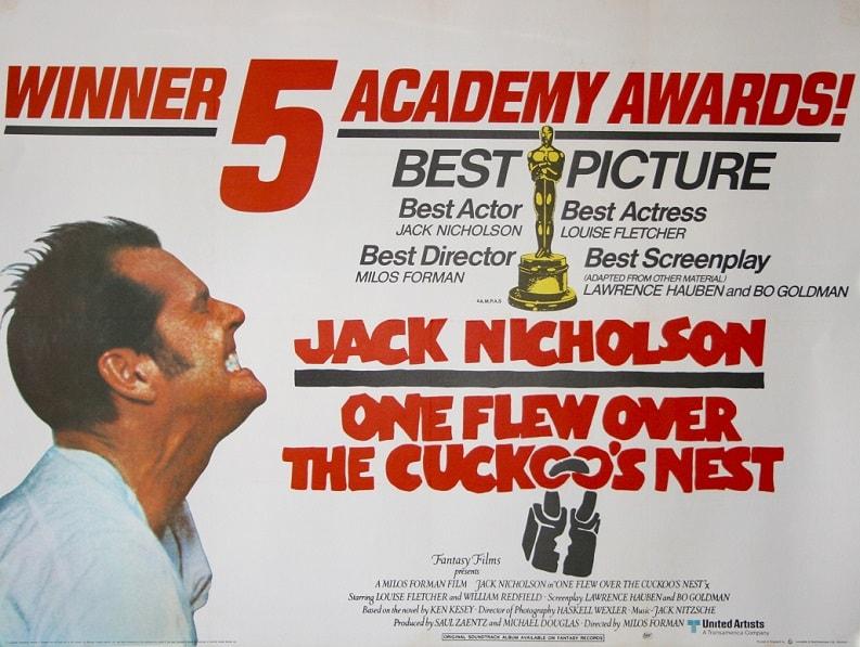 دانلود فیلم دیوانه از قفس پرید 1975 زبان اصلی با زیرنویس انگلیسی