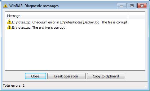 رفع مشکلات احتمالی در دانلود فایل های فشرده