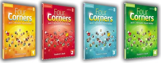 دانلود کتاب های Four corners 1 2 3 4