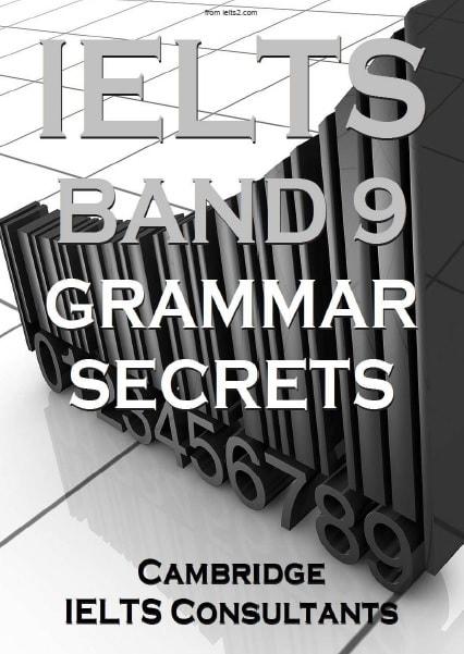 دانلود مستقیم کتاب IELTS Band 9 Grammar Secrets