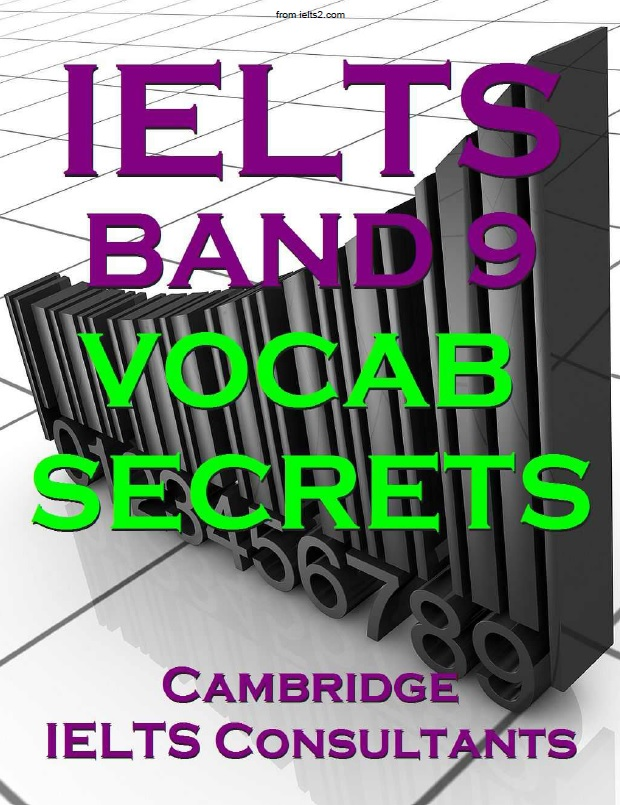 دانلود کتاب IELTS Band 9 Vocabulary Secrets