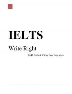 رایتینگ کتاب IELTS Write Right