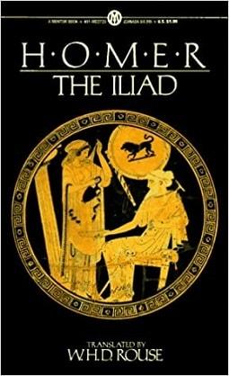 دانلود کتاب ایلیاد(Iliad) هومر به زبان انگلیسی و فارسی