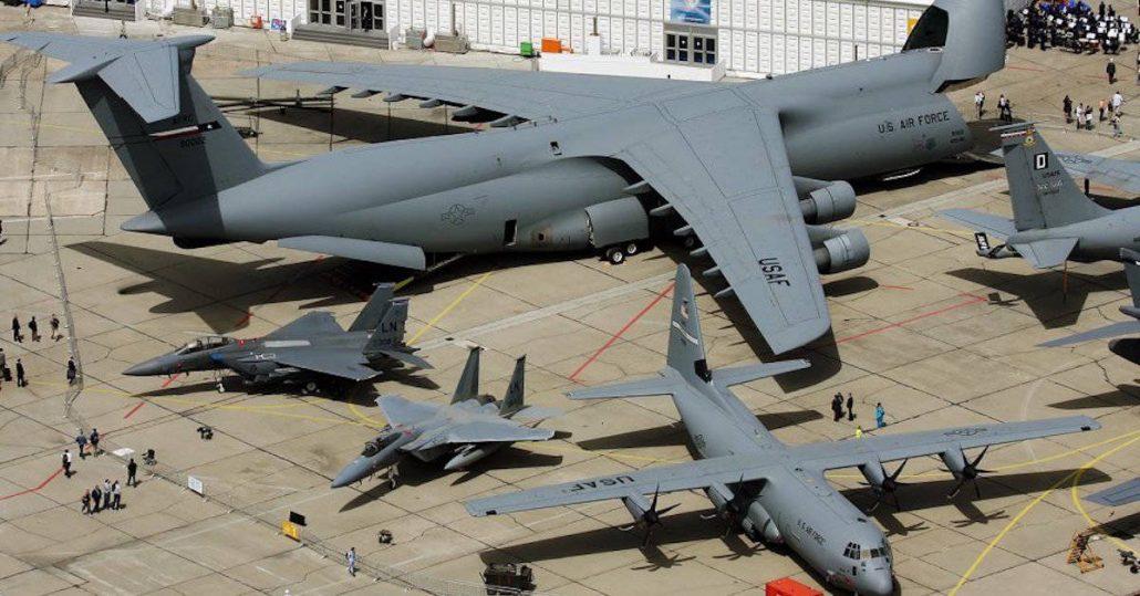 دانلود مستند بزرگترین هواپیماهای نیروی هوایی آمریکا
