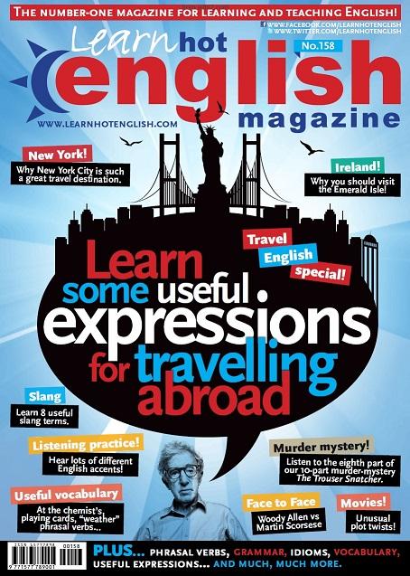 مجله آموزشی Learn Hot English