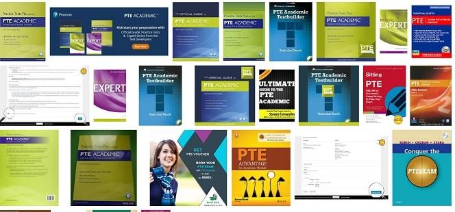دانلود منابع آزمون PTE