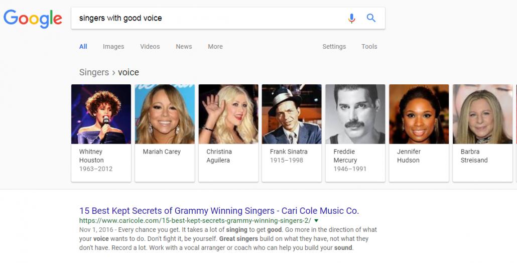 بهترین خواننده برای یادگیری زبان