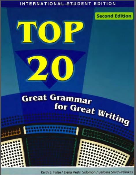 دانلود کتاب Top 20 Great Grammar for Great Writing