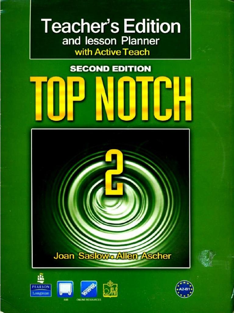 دانلود رایگان کتاب معلم Top Notch 2B
