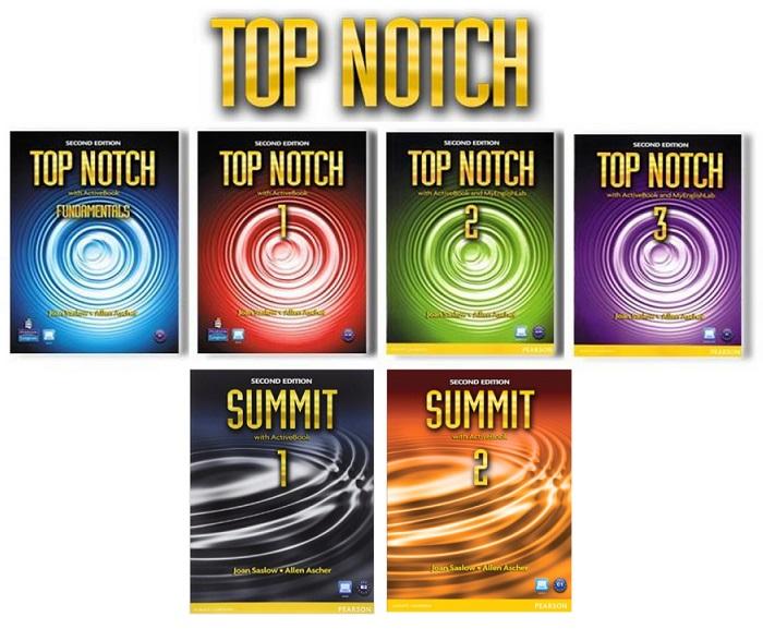 دانلود رایگان سری جدید کتاب Top Notch و Summit