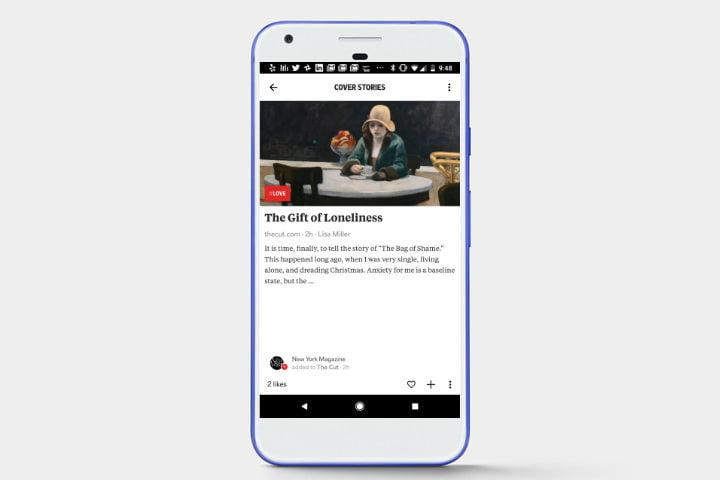 دانلود اپلیکیشن اخبار انگلیسی Flipboard برای اندروید