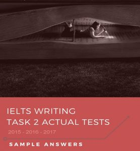 دانلود کتاب IELTS writing actual tests 2015 - 2017