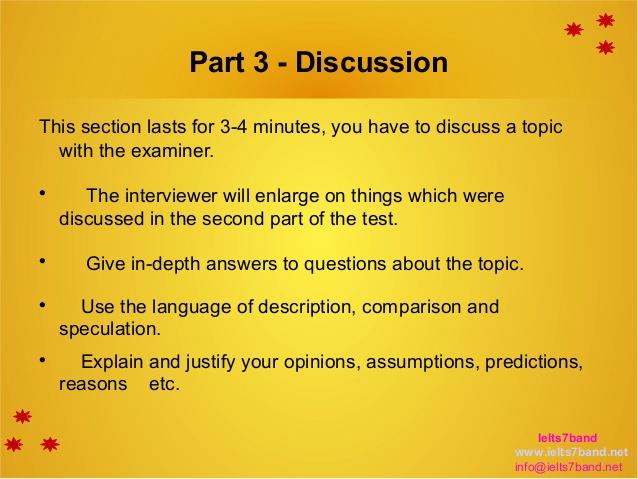 7 نوع سوال متداول در بخش سوم مصاحبه آیلتس