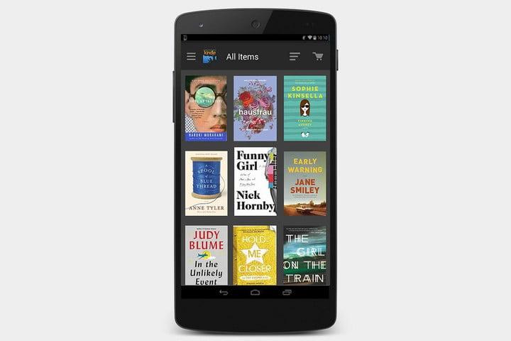 دانلود اپلیکیشن Kindle برای اندروید