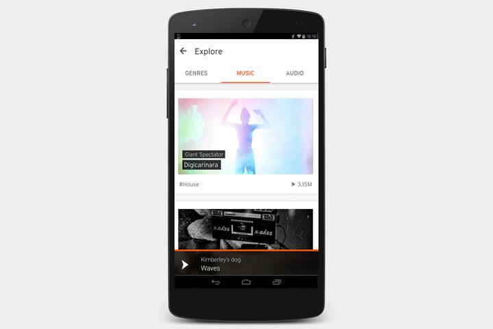 دانلود برنامه Soundcloud برای اندروید