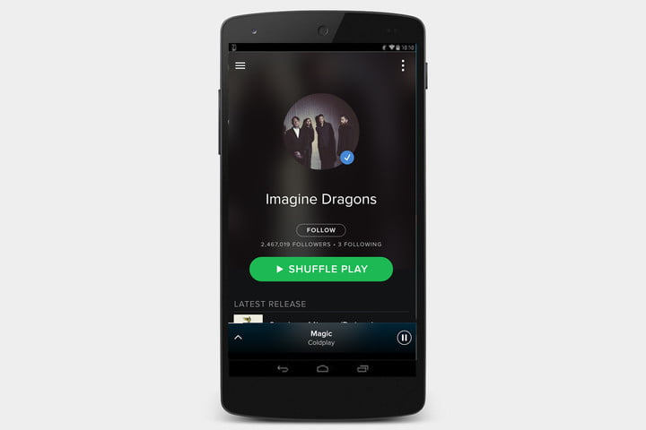 دانلود اپلیکیشن Spotify برای اندروید
