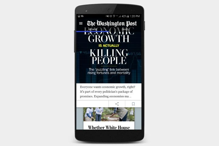 دانلود اپلیکیشن Washington Post برای اندروید