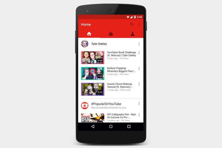 دانلود اپلیکیشن Youtube برای اندروید